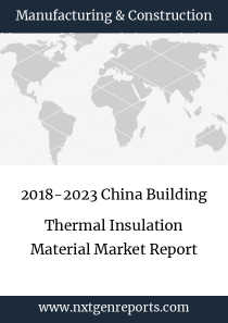 2018-2023 China Building Thermal Insulation Material Market Report