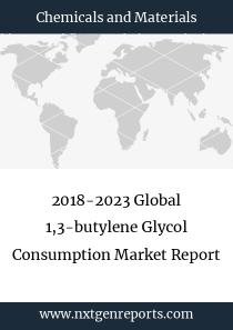 2018-2023 Global 1,3-butylene Glycol Consumption Market Report