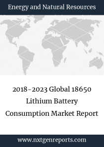 2018-2023 Global 18650 Lithium Battery Consumption Market Report