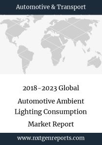2018-2023 Global Automotive Ambient Lighting Consumption Market Report