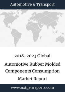 2018-2023 Global Automotive Rubber Molded Components Consumption Market Report