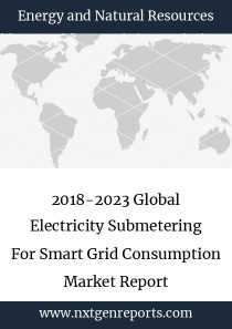 2018-2023 Global Electricity Submetering For Smart Grid Consumption Market Report