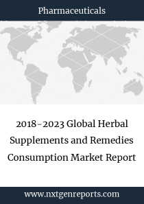 2018-2023 Global Herbal Supplements and Remedies Consumption Market Report