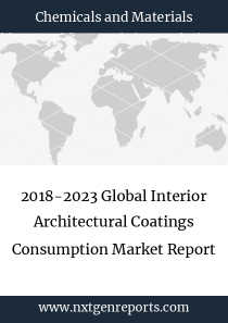 2018-2023 Global Interior Architectural Coatings Consumption Market Report