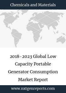 2018-2023 Global Low Capacity Portable Generator Consumption Market Report
