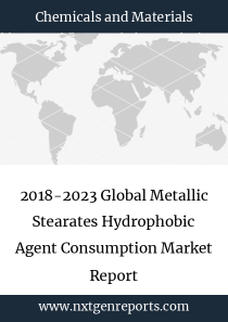 2018-2023 Global Metallic Stearates Hydrophobic Agent Consumption Market Report