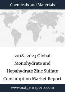 2018-2023 Global Monohydrate and Hepahydrate Zinc Sulfate Consumption Market Report