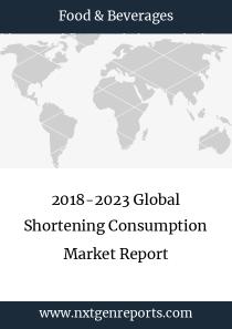 2018-2023 Global Shortening Consumption Market Report