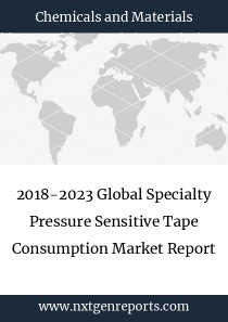 2018-2023 Global Specialty Pressure Sensitive Tape Consumption Market Report