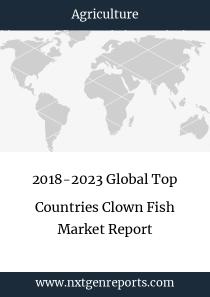 2018-2023 Global Top Countries Clown Fish Market Report