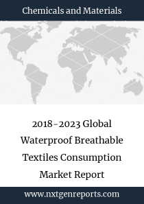 2018-2023 Global Waterproof Breathable Textiles Consumption Market Report
