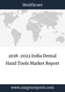 2018-2023 India Dental Hand Tools Market Report