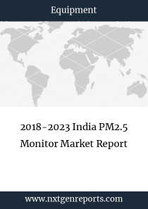 2018-2023 India PM2.5 Monitor Market Report