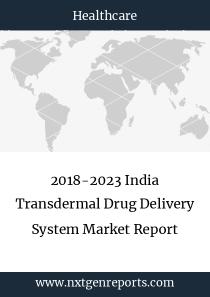 2018-2023 India Transdermal Drug Delivery System Market Report