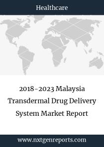 2018-2023 Malaysia Transdermal Drug Delivery System Market Report
