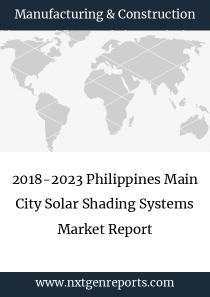 2018-2023 Philippines Main City Solar Shading Systems Market Report