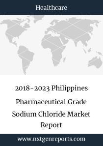 2018-2023 Philippines Pharmaceutical Grade Sodium Chloride Market Report