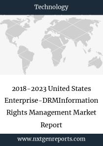 2018-2023 United States Enterprise-DRMInformation Rights Management Market Report