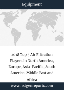 2018 Top 5 Air Filtration Players in North America, Europe, Asia-Pacific, South America, Middle East and Africa