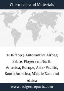 2018 Top 5 Automotive Airbag Fabric Players in North America, Europe, Asia-Pacific, South America, Middle East and Africa