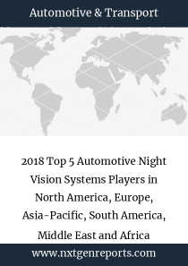 2018 Top 5 Automotive Night Vision Systems Players in North America, Europe, Asia-Pacific, South America, Middle East and Africa