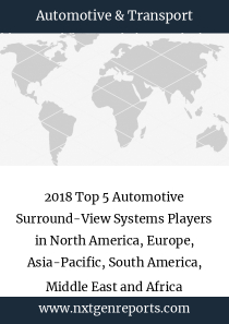 2018 Top 5 Automotive Surround-View Systems Players in North America, Europe, Asia-Pacific, South America, Middle East and Africa