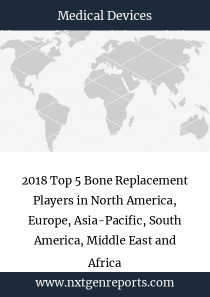 2018 Top 5 Bone Replacement Players in North America, Europe, Asia-Pacific, South America, Middle East and Africa