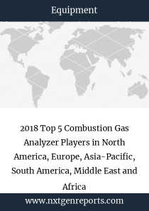 2018 Top 5 Combustion Gas Analyzer Players in North America, Europe, Asia-Pacific, South America, Middle East and Africa