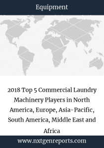 2018 Top 5 Commercial Laundry Machinery Players in North America, Europe, Asia-Pacific, South America, Middle East and Africa