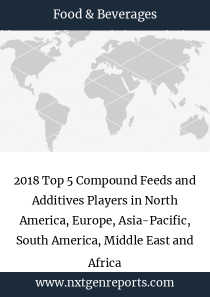 2018 Top 5 Compound Feeds and Additives Players in North America, Europe, Asia-Pacific, South America, Middle East and Africa