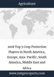 2018 Top 5 Crop Protection Players in North America, Europe, Asia-Pacific, South America, Middle East and Africa