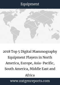 2018 Top 5 Digital Mammography Equipment Players in North America, Europe, Asia-Pacific, South America, Middle East and Africa