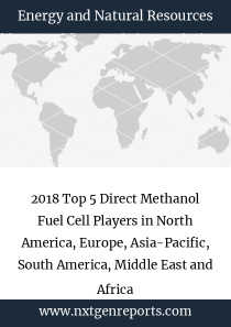 2018 Top 5 Direct Methanol Fuel Cell Players in North America, Europe, Asia-Pacific, South America, Middle East and Africa