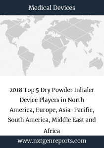 2018 Top 5 Dry Powder Inhaler Device Players in North America, Europe, Asia-Pacific, South America, Middle East and Africa