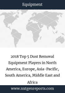 2018 Top 5 Dust Removal Equipment Players in North America, Europe, Asia-Pacific, South America, Middle East and Africa