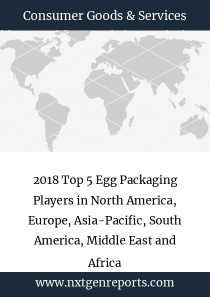 2018 Top 5 Egg Packaging Players in North America, Europe, Asia-Pacific, South America, Middle East and Africa