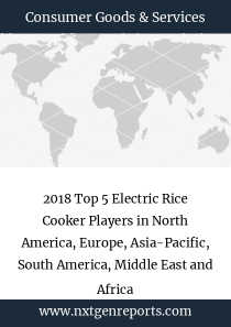 2018 Top 5 Electric Rice Cooker Players in North America, Europe, Asia-Pacific, South America, Middle East and Africa