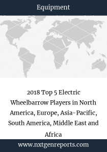 2018 Top 5 Electric Wheelbarrow Players in North America, Europe, Asia-Pacific, South America, Middle East and Africa