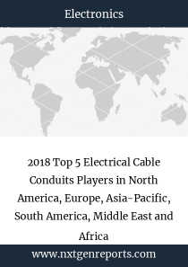 2018 Top 5 Electrical Cable Conduits Players in North America, Europe, Asia-Pacific, South America, Middle East and Africa