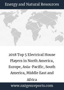 2018 Top 5 Electrical House Players in North America, Europe, Asia-Pacific, South America, Middle East and Africa