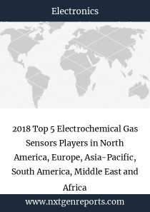 2018 Top 5 Electrochemical Gas Sensors Players in North America, Europe, Asia-Pacific, South America, Middle East and Africa