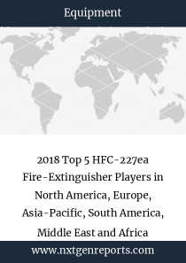 2018 Top 5 HFC-227ea Fire-Extinguisher Players in North America, Europe, Asia-Pacific, South America, Middle East and Africa