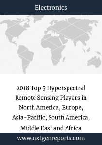 2018 Top 5 Hyperspectral Remote Sensing Players in North America, Europe, Asia-Pacific, South America, Middle East and Africa