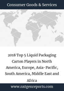 2018 Top 5 Liquid Packaging Carton Players in North America, Europe, Asia-Pacific, South America, Middle East and Africa