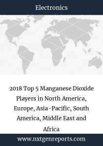 2018 Top 5 Manganese Dioxide Players in North America, Europe, Asia-Pacific, South America, Middle East and Africa