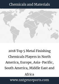 2018 Top 5 Metal Finishing Chemicals Players in North America, Europe, Asia-Pacific, South America, Middle East and Africa