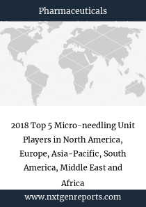 2018 Top 5 Micro-needling Unit Players in North America, Europe, Asia-Pacific, South America, Middle East and Africa