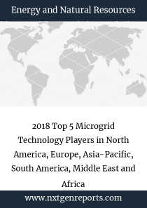 2018 Top 5 Microgrid Technology Players in North America, Europe, Asia-Pacific, South America, Middle East and Africa