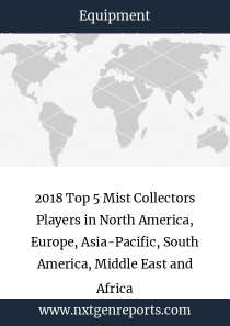 2018 Top 5 Mist Collectors Players in North America, Europe, Asia-Pacific, South America, Middle East and Africa
