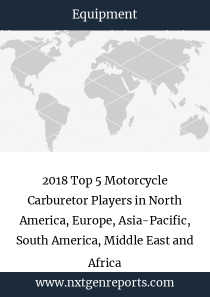 2018 Top 5 Motorcycle Carburetor Players in North America, Europe, Asia-Pacific, South America, Middle East and Africa